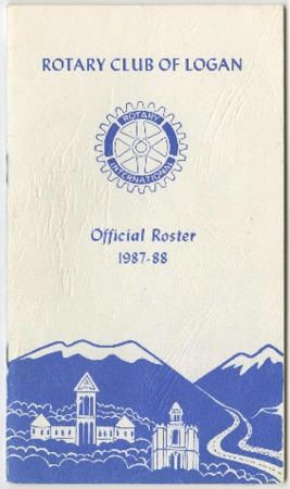 Rotary Club of Logan Official Roster, 1987-88