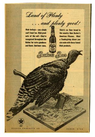 Advertisement for Becker's American Pilsner Beer (9 of 18), 1945