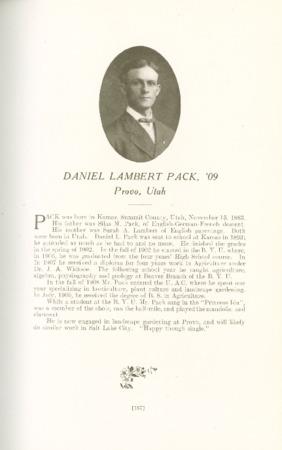 1909 A.C.U. Graduate Yearbook, Page 167