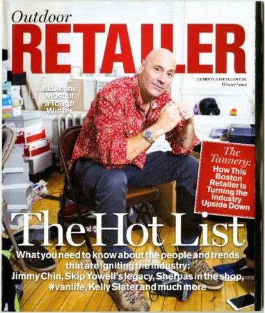 Outdoor Retailer, The Hot List, 2016