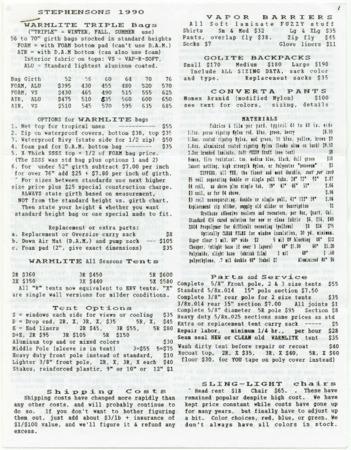 Stephenson's, 1990