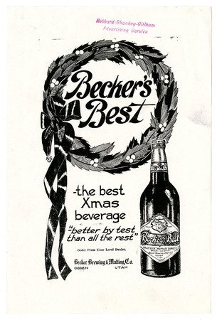 Advertisement for Becker's Best (6 of 29), c. 1910