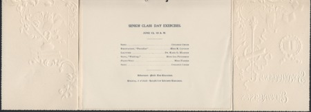 1898 UAC Commencement Program, Page 2
