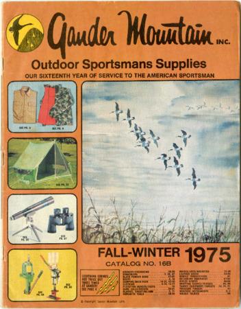 Gander Mountain, Inc., Fall-Winer 1975