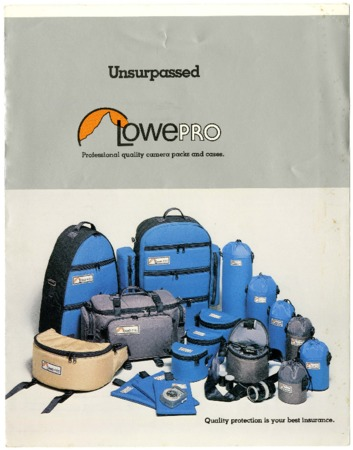 Lowe Alpine Systems, Unsurpassed, 1981