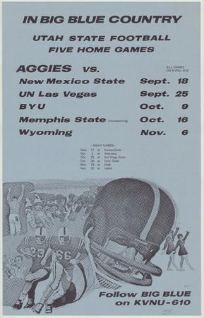 Football schedule, 1971