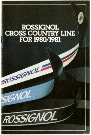 Rossignol, Cross Country, 1980-1981