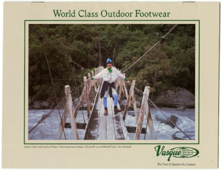 Vasque, World Class Outdoor Footwear, undated