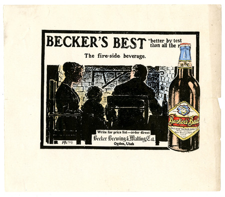 Advertisement for Becker's Best (4 of 29), c. 1910