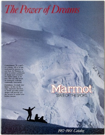 Marmot Mountain Works, 1987-1988