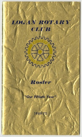 "Logan Rotary Roster: ""Our Fiftieth Year,"" 1969"