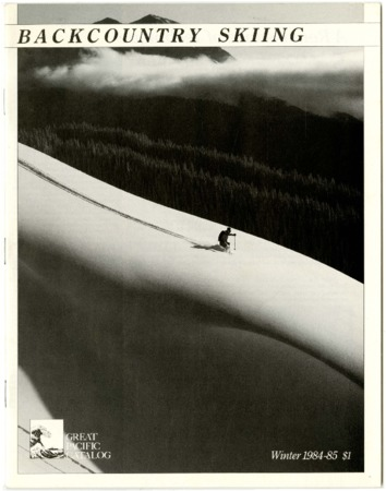 Great Pacific Iron Works, Backcountry Skiing, Winter 1984-1985