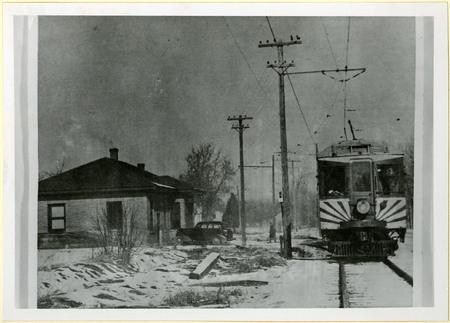 U.I.C. Train at the Mendon Station<br />