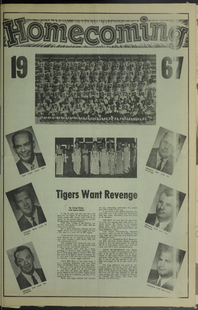 "A page from the ""Student Life"" newspaper, November 11, 1967"