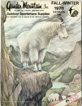 Gander Mountain, Inc., Fall-Winter 1978