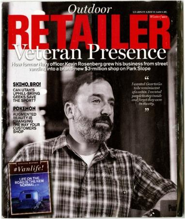 Outdoor Retailer, Veteran Presence, 2017