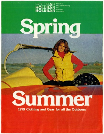 Holubar Mountaineering Ltd., Spring/Summer 1979