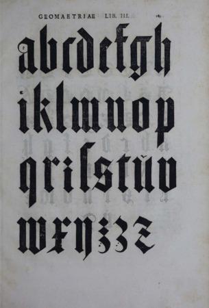 Albrecht Dürer Gothic letters page 2