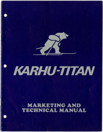 The Karhu Edge, undated