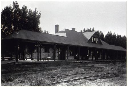 Oregon Short Line Train Depot, Logan, Utah<br />