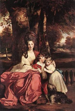 Lady Delm and her Children