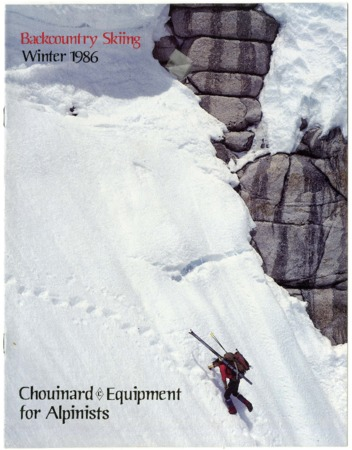 Chouinard Equipment for Alpinists, Winter 1986