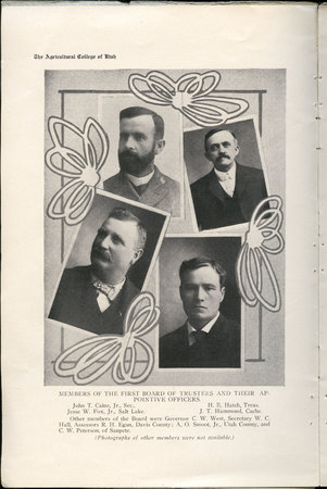 1908 UAC Commencement Program Page 4