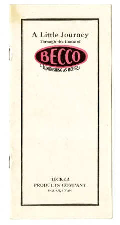 A Little Journey Through the Home of Becco, c. 1925