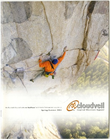Cloudveil climber, 2004