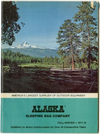 Alaska Sleeping Bag Company, 1971-1972