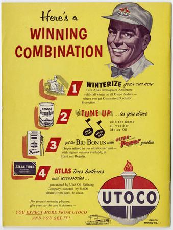 Utoco advertisement, 1958