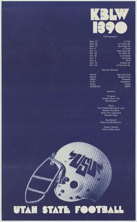 Football schedule, 1975