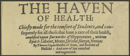 HIST 3250, Spring 2015: Thomas Cogan and The Haven of Health thumbnail
