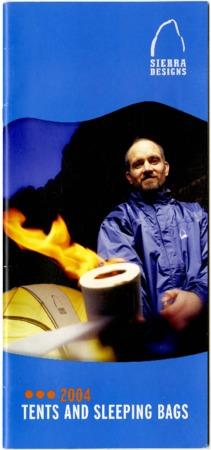 Sierra Designs, Tents & Sleeping Bags, 2004
