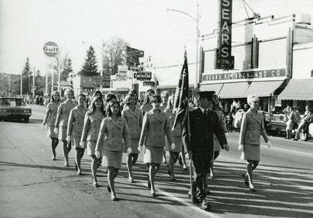 Angel Flight group marches in parade