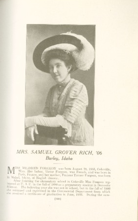 1909 A.C.U. Graduate Yearbook, Page 189
