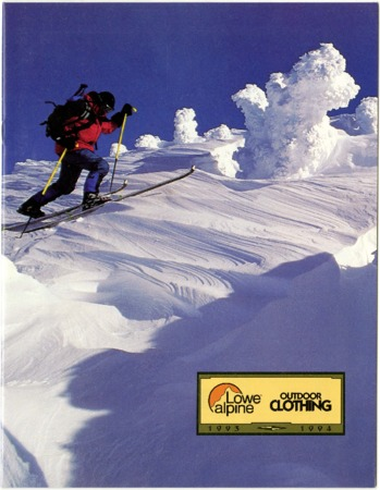 Lowe Alpine Systems, Outdoor Clothing, 1993-1994