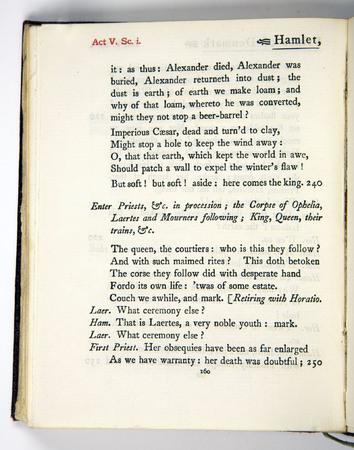 Hamlet, Act 5 Scene 1, k