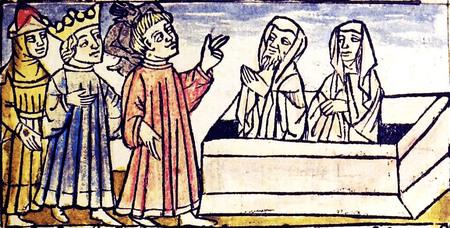 Der Antichrist und die fünfzehn Zeichen, 18 a