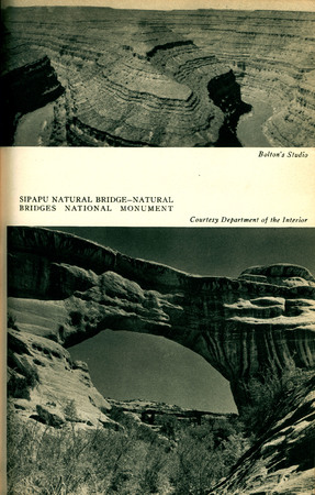 Utah State Guide image of Sipapu Natural Bridge-Natural Bridges National Monument