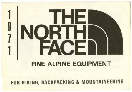 The North Face, Fine Alpine Equipment, 1971