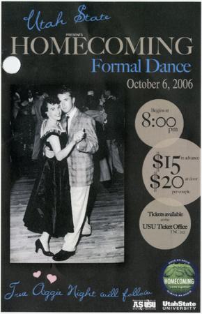 Homecoming dance flyer, 2006