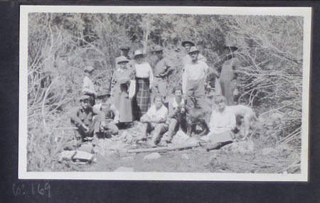 Becker Family Picnic Photograph, undated