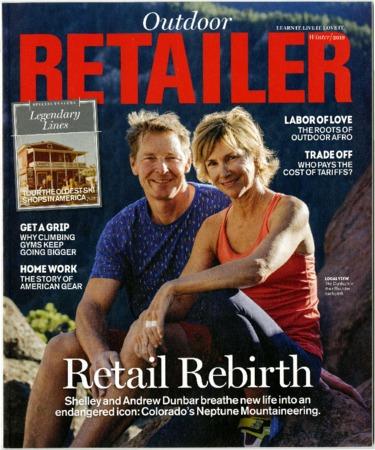 Outdoor Retailer, Retail Rebirth, 2019
