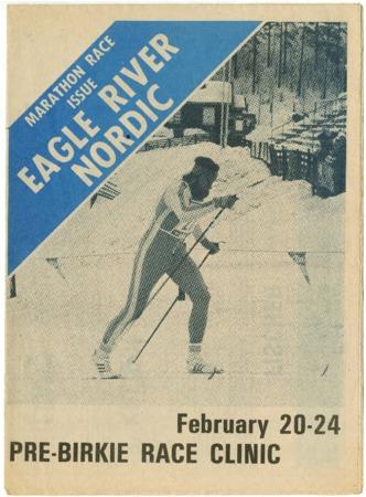 Eagle River Nordic, Marathon Race Issue, Pre-Birkie, 1983