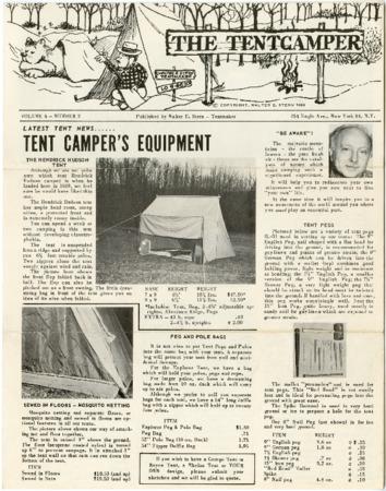 Walter E. Stern, 1963 newsletter