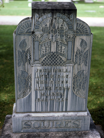 The Squires Headstone