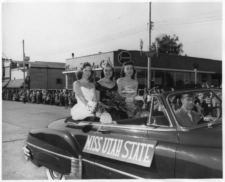 1950 USU homecoming queen