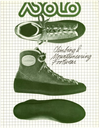 Asolo Climbing & Mountaineering Footwear, 1981