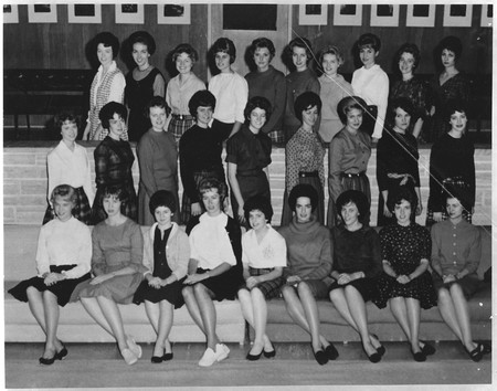 Homecoming queen candidates, 1961